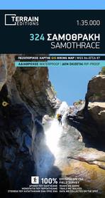 SAMOTRAKI SAMOTHRACE SAMOTHRAKI mapa wodoodporna 1:35 000 ORAMA