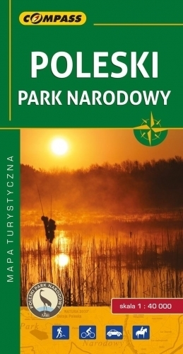 POLESKI PARK NARODOWY mapa turystyczna 1:40 000 COMPASS 2017
