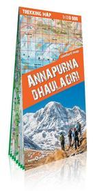 ANNAPURNA DHAULAGIRI laminowana mapa trekkingowa 1:110 000 EXPRESSMAP