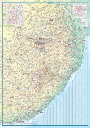 SOUTH AFRICA AFRYKA POŁUDNIOWA mapa 1:1 350 000 ITMB (5)