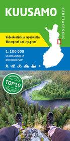 KUUSAMO wodoodporna mapa turystyczna 1:100 000 KARTTAKESKUS