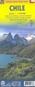 CHILE mapa samochodowa 1:1 750 000 ITMB 2019