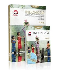 INDONEZJA ZŁOTA SERIA PRZEWODNIK z mapą  PASCAL GOLD 2019