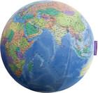GLOBUS MAPA POLITYCZNA DUŻA PIŁKA SIEDZISKO 75 CM BALANCE PLANET (1)