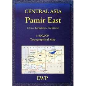 Central Asia Pamir East mapa 1:500 000 EWP