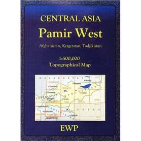 Central Asia Pamir West mapa 1:500 000 EWP