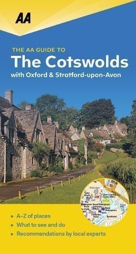 COTSWOLDS Oxford & Stratford-upon-Avon przewodnik turystyczny AA