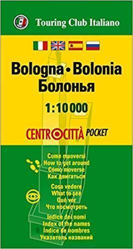 BOLONIA kieszonkowy plan miasta 1:10 000 TOURING EDITORE