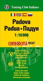 PADWA kieszonkowy plan miasta 1:10 000 TOURING EDITORE