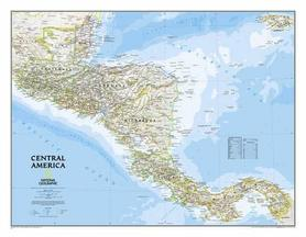 AMERYKA ŚRODKOWA mapa ścienna 1:2 541 000 NATIONAL GEOGRAPHIC