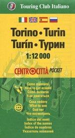 TURYN kieszonkowy plan miasta 1:12 000 TOURING EDITORE