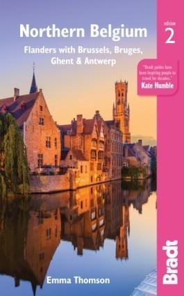 PÓŁNOCNA BELGIA BRUKSELA BRUGIA GHENT ANTWERPIA 2 przewodnik turystyczny BRADT 2019