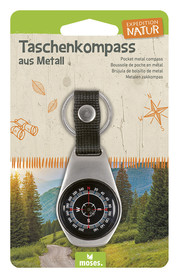KOMPAS KIESZONKOWY Expedition Nature Z METALU - MOSES