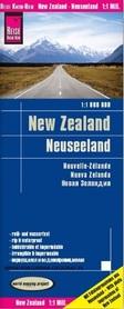 NOWA ZELANDIA mapa 1:1 000 000 REISE KNOW HOW 2019