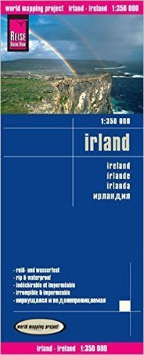 IRLANDIA mapa 1:350 000 REISE KNOW HOW 2019