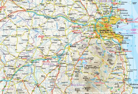 IRLANDIA mapa 1:350 000 REISE KNOW HOW 2019 (3)