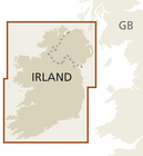 IRLANDIA mapa 1:350 000 REISE KNOW HOW 2019 (2)