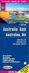 AUSTRALIA WSCHODNIA mapa 1:1 800 000 REISE KNOW HOW 2019