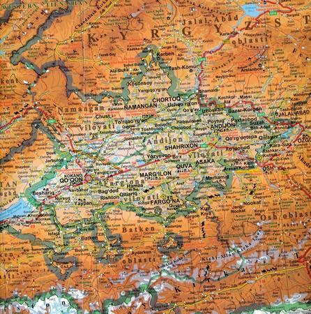 UZBEKISTAN TASZKIENT mapa 1:1 300 000 GIZIMAP 2019 (4)