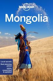 MONGOLIA W.8 przewodnik LONELY PLANET 2018