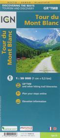 TOUR DU MONT BLANC mapa turystyczna 1:25 000 IGN