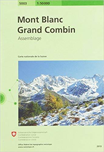 Mont Blanc - Grand Combin 1:50 000 SWISSTOPO (1)