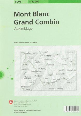 Mont Blanc - Grand Combin 1:50 000 SWISSTOPO (2)