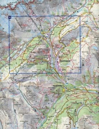 MONT BLANC wodoodporna mapa turystyczna 1:50 000 KOMPASS (3)