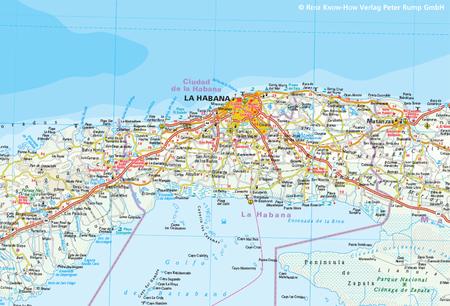 KUBA mapa 1:650 000 REISE KNOW HOW wodoodporna 2019 (2)