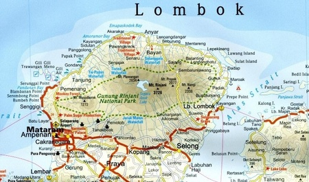 INDONEZJA CZ. 6 - MAŁE WYSPY SUNDAJSKIE mapa 1:800 000 REISE KNOW HOW Bali, Lombok, Sumbawa, Sumba, Flores, Timor, Alor, Wetar (2)