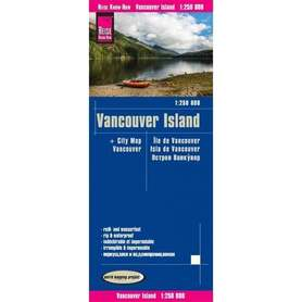 VANCOUVER ISLAND mapa 1:1 900 000 REISE KNOW HOW 2019