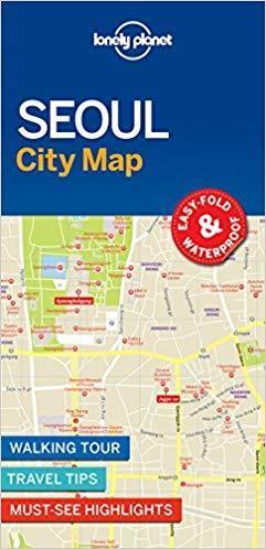 SEUL SEOUL  W.1 CityMap plan miasta LONELY PLANET