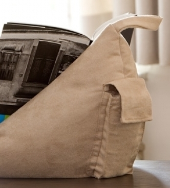 BOOK SEAT Buckskin/Beige PODUSZKA NA KSIĄŻKĘ (5)