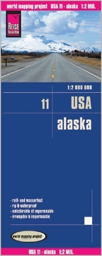 USA CZ. 11 ALASKA mapa 1:2 000 000 REISE KNOW HOW w.5, 2017