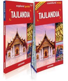 TAJLANDIA explore! guide LIGHT przewodnik z mapą EXPRESSMAP 2019