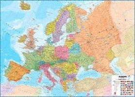 EUROPA polityczna mapa ścienna 101 x 149 cm 1:4 300 000 Maps International