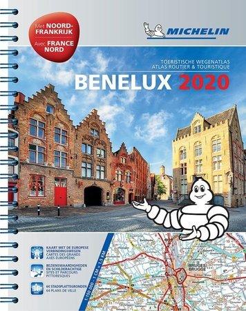 BENELUX atlas samochodowy1:150 000 MICHELIN 2020 (1)