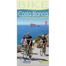 COSTA BLANCA mapa tutystyczna rowerowa 1:100 000 ALPINA 2020
