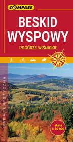 BESKID WYSPOWY mapa turystyczna 1:50 000 COMPASS 2020