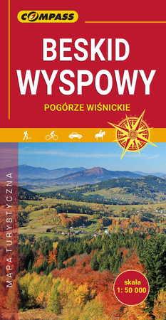 BESKID WYSPOWY mapa turystyczna 1:50 000 COMPASS 2020 (1)