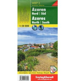 AZORY mapa turystyczna 1:50 000 FREYTAG & BERNDT