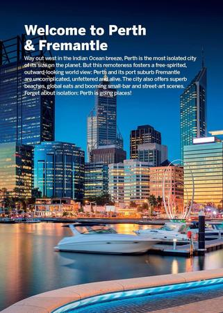 PERTH & FREMANTLE W.1 przewodnik LONELY PLANET POCKET 2019 (4)