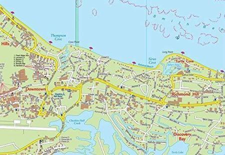 PROVIDENCIALES TURKS & CAICOS mapa wodoodporna 1:25 000 KASPROWSKI (2)