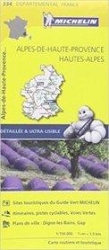 ALPES - DE - HAUTE PROVENCE 334  mapa 1:150 000 MICHELIN