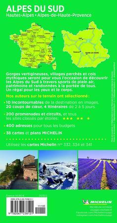 Michelin Le Guide Vert Alpes du Sud MICHELIN (2)