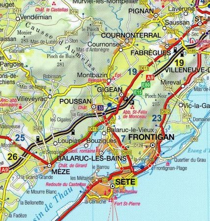 LANGWEDOCJA ROUSSILLON przewodnik wersja francuska EXPRESSMAP (5)