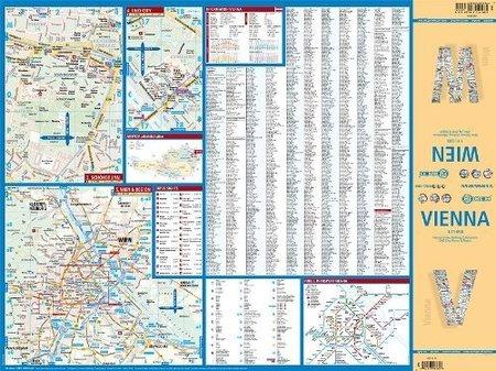 WIEDEŃ W.14 plan miasta laminowany 1:11 000 BORCH 2019 (2)