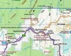 GÓRY BŁĘKITNE BLUE MOUNTAINS mapa turystyczna 1:25 000 UBD (2)