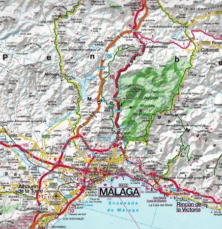 ANDALUZJA mapa 1:220 000 Sewilla Cordoba Grenada IGN (2)