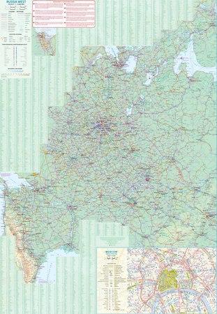 SANKT PETERSBURG ROSJA ZACHODNIA mapa 1:14 000 / 1:3 200 000 ITMB 2019 (4)